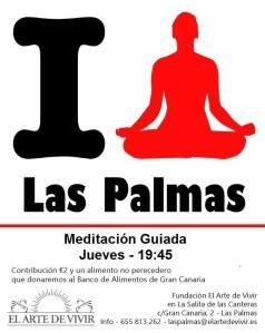 el arte de vivir canarias meditación cada jueves
