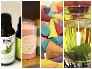 collage diferentes foras de aromaterapia