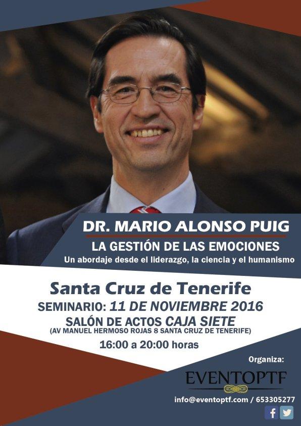 Seminario Dr Mario Alonso Puig Canarias