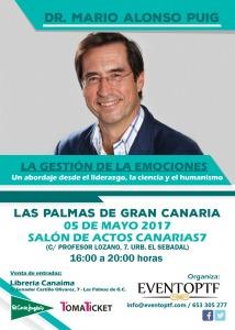 Mario Alonso Puig Evento Gran Canaria