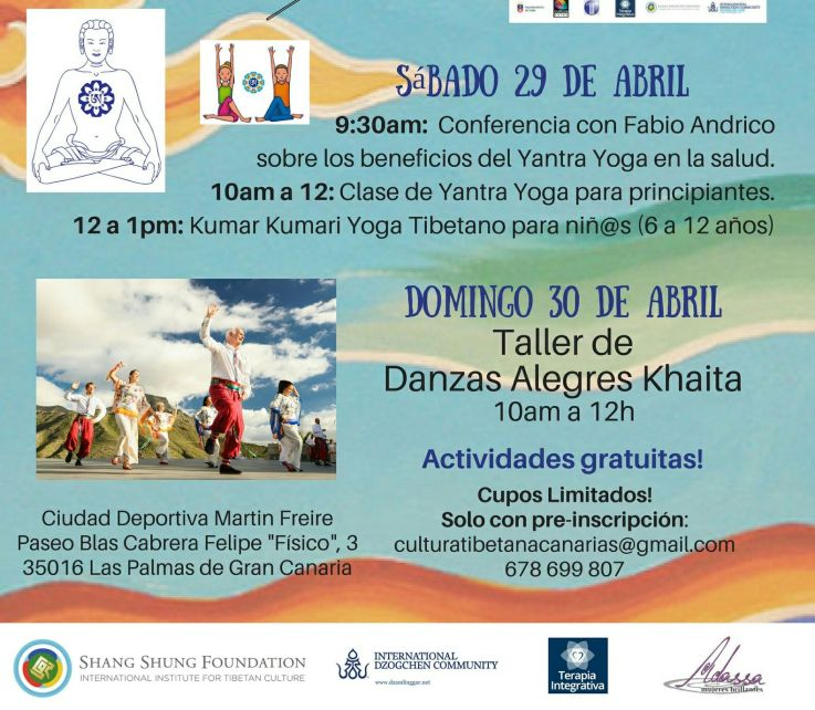 Taller Yoga 29 abril Juan carlos durán
