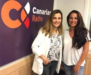 Laura Henriquez odontologa y Elisa Ruano Conexión Amare