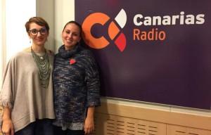 Nuria vega y Raquel Francés