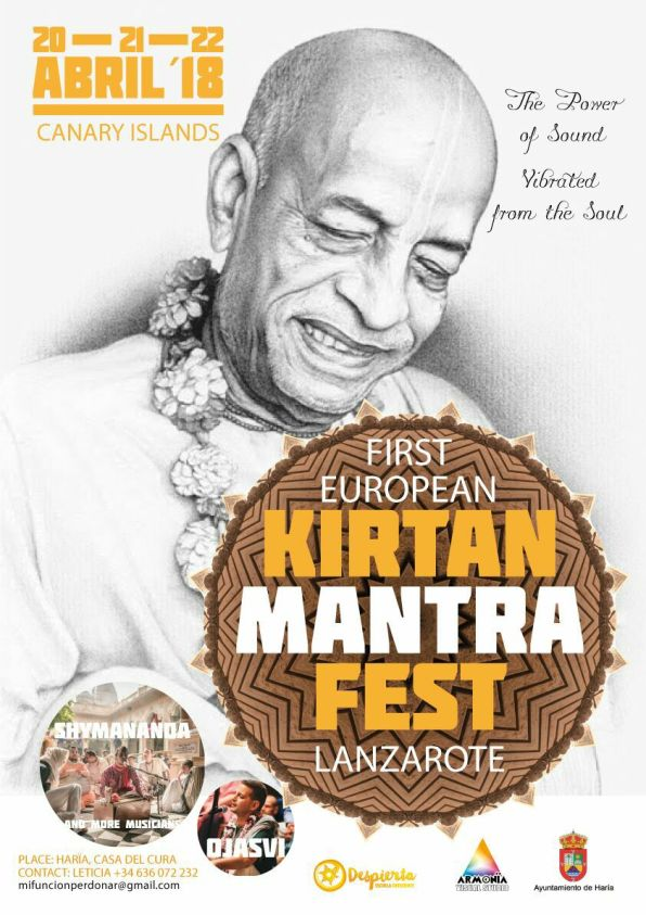 first European kirtan mantra fest lanzarote