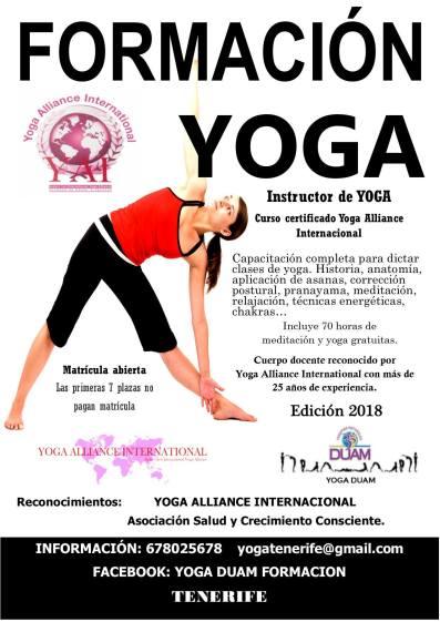 formación yoga duam