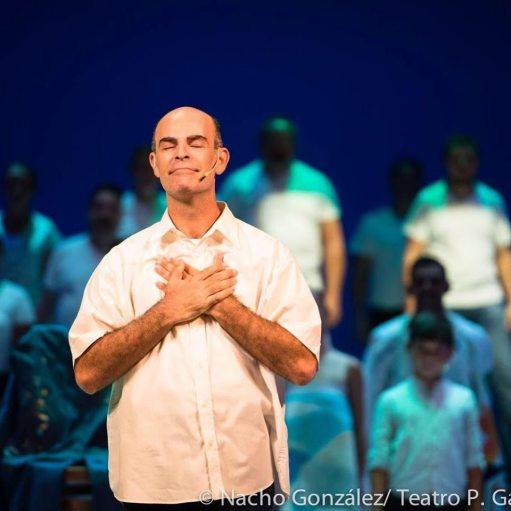 Foto: Nacho González.César Manrique, el musical